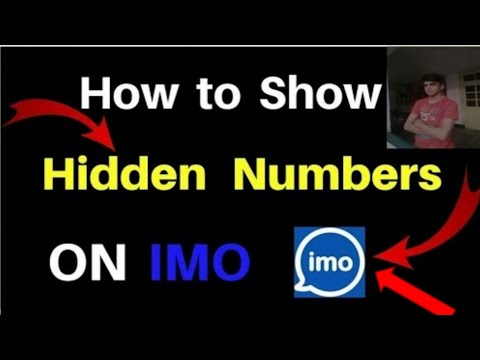 How To Show Hidden Number In IMO| Imo number show|imo tricks in urdu|imo  new update|imo without numb