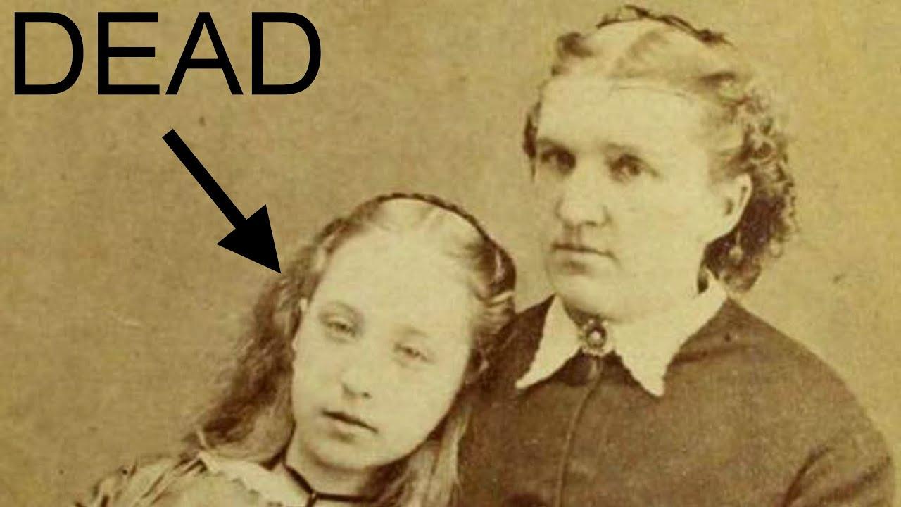 Super 10 Creepy Victorian Post-Mortem Photos - YouTube @EX51