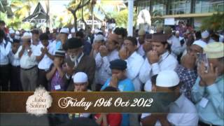 Friday 19th october 2012 - 51th Jalsa Salana Mauritius