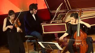 François Francoeur : Sonate en mi mineur pour violon et basse-continue, Adagio