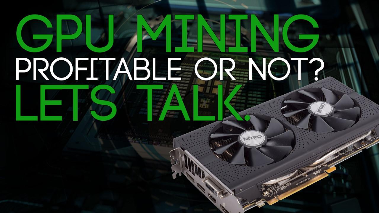 gpu mining still profitable
