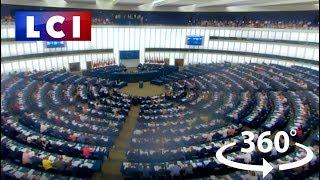 VIDÉO 360 - Au coeur du parlement européen de Strasbourg