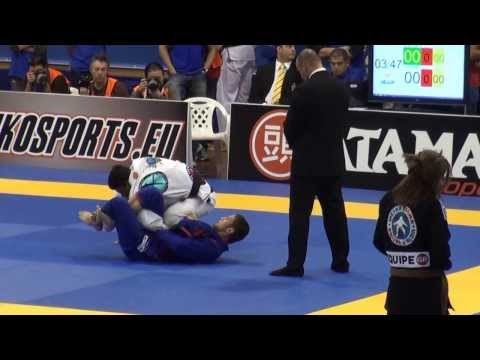 Claudio Calasans vs JT Torres IBJJF European 2014 Middle Final