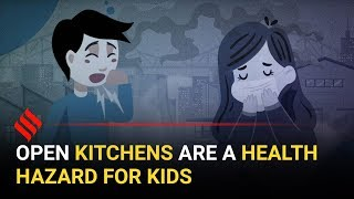 Indoor pollution: Open kitchens are a health hazard for kids