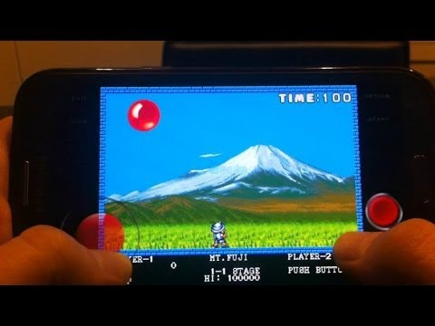 [MAME4droid Emulator] Pang on Android - Arcade Game for ...