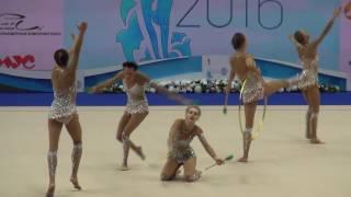 Кубок мира Казань 2016. Художественная гимнастика. День 3. Россия(Rhythmic Gymnastics 2016 - World Cup 2016 Kazan - Day 3 - 10.07.2016 - Russia - groups., 2016-07-13T21:38:35.000Z)