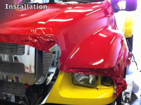 3m Certified Ford F650 3m 1080 Red Carwrap By