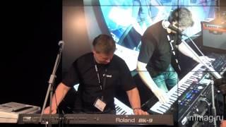 mmag.ru: NM-Russia 2013 -  Roland BK-3 & BK-9 keyboards presentation