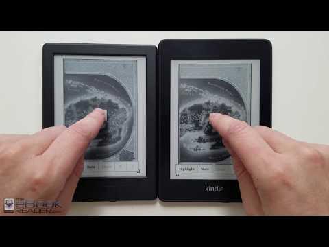 Kindle Paperwhite 4 vs $79 Kindle Comparison Review - 2018