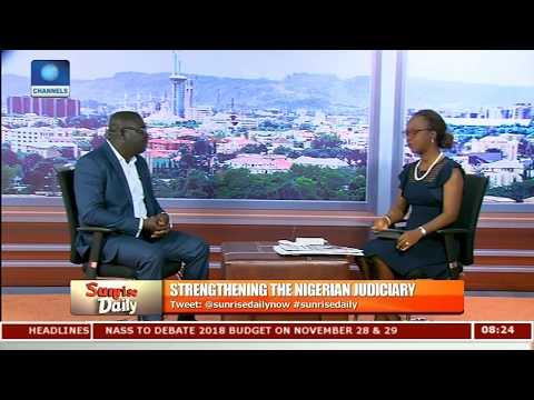 """Civil Service, Bedrock Of Corruption"" Diala On Reinvigorating Corruption Fight Pt.4  Sunrise Daily "