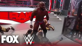 Apollo Crews and MVP battled to decide who is the 'Real' United States Champion | MONDAY NIGHT RAW