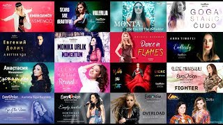 Recap 40 Eurovision songs by Ylva & Linda 2013-2019