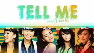 Wonder Girls(원더걸스) °•Tell Me°• Letra traduzida em codigo de …