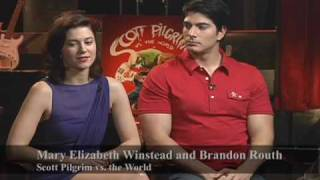 Interview with Scott Pilgrim stars Mary Elizabeth Winstead & Brandon Routh