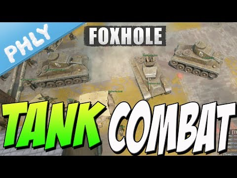 FOXHOLE - Tank Combat is HERE & Mulitcrew Support (Foxhole Gameplay)