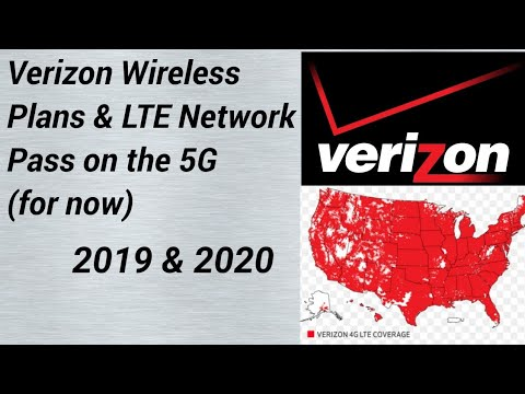 Verizon Wireless: Plans And Network 2019 & 2020.