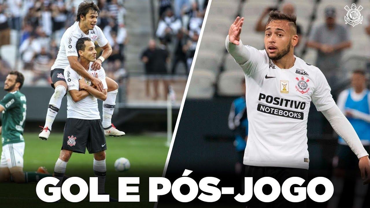 Gol E Pós Jogo Corinthians 1x0 Palmeiras Brasileirão 2018