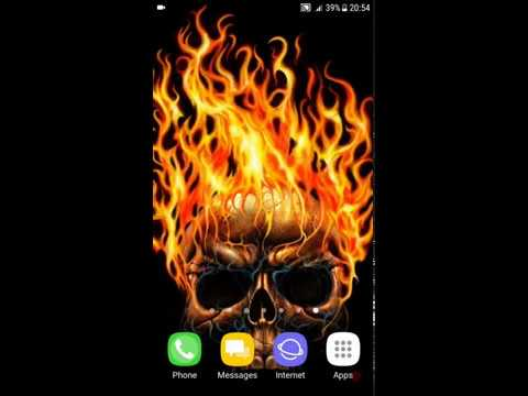 Skull Wallpapers 4k Android Application