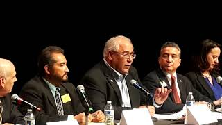 2018 Santa Fe Mayoral Debate - Question 1 | Your views - Vision of a strong mayor
