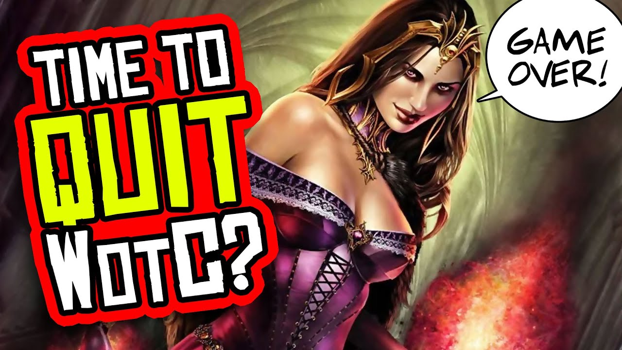 Time to DITCH Wizards of the Coast? DnD and MTG Have Gone INSANE!