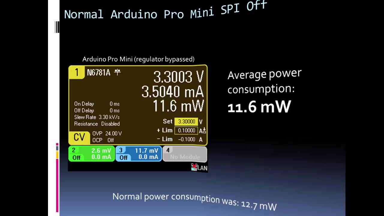 ForceTronics: Reducing Arduino's Power Consumption Part 2