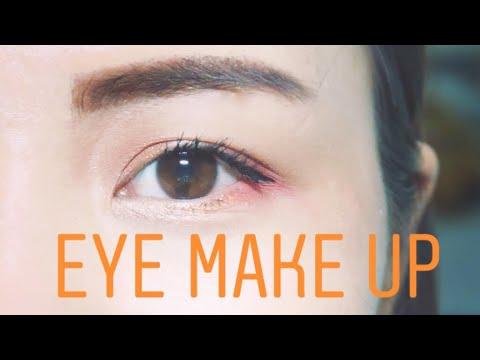 TRANG ĐIỂM MẮT ĐƠN GIẢN cho người mới bắt đầu-Cách vẽ Eye liner cực dễ-Eye make up for beginer