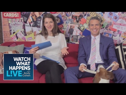 Andy's Most Awkward WWHL Moment   @sk Andy   WWHL