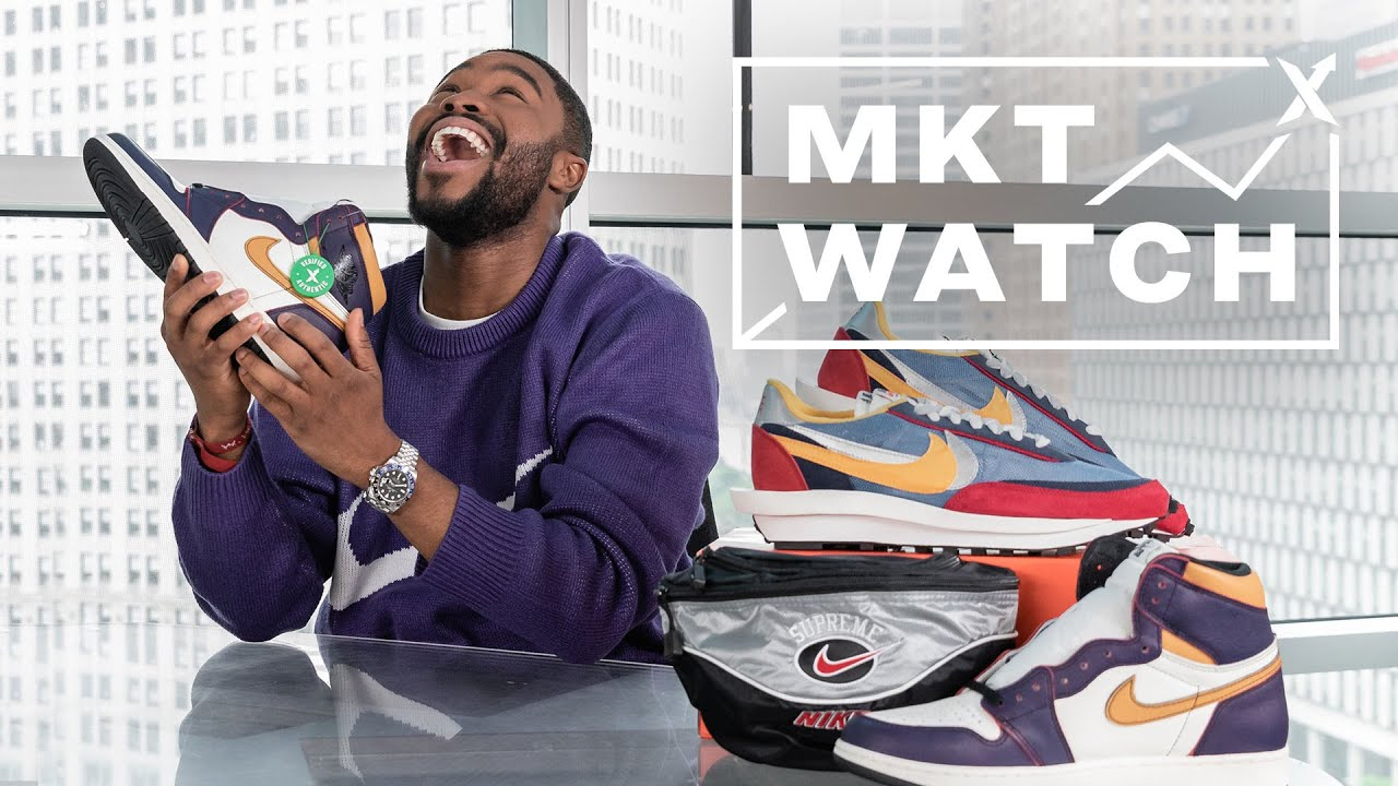 3a969434 StockX MKT Watch: SBs vs Glows, Supreme Swoosh & Sacai Arrives - YouTube