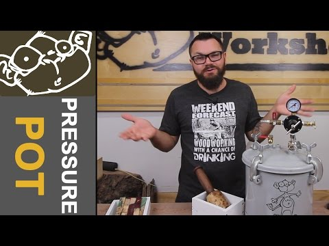 Make a Pressure Pot with Accessories for Casting