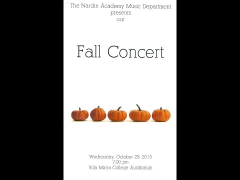 Nardin Academy High School Fall Concert Part One