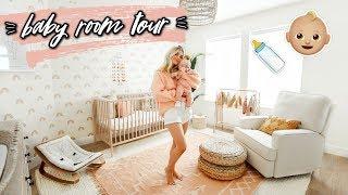 BABY GIRL NURSERY ROOM TOUR!! | Aspyn Ovard