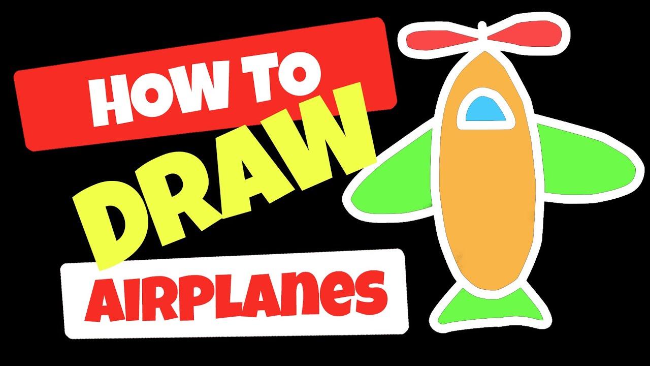 Indir Uçak Boyamaları Yazdırılabilir Boyama Sayfaları