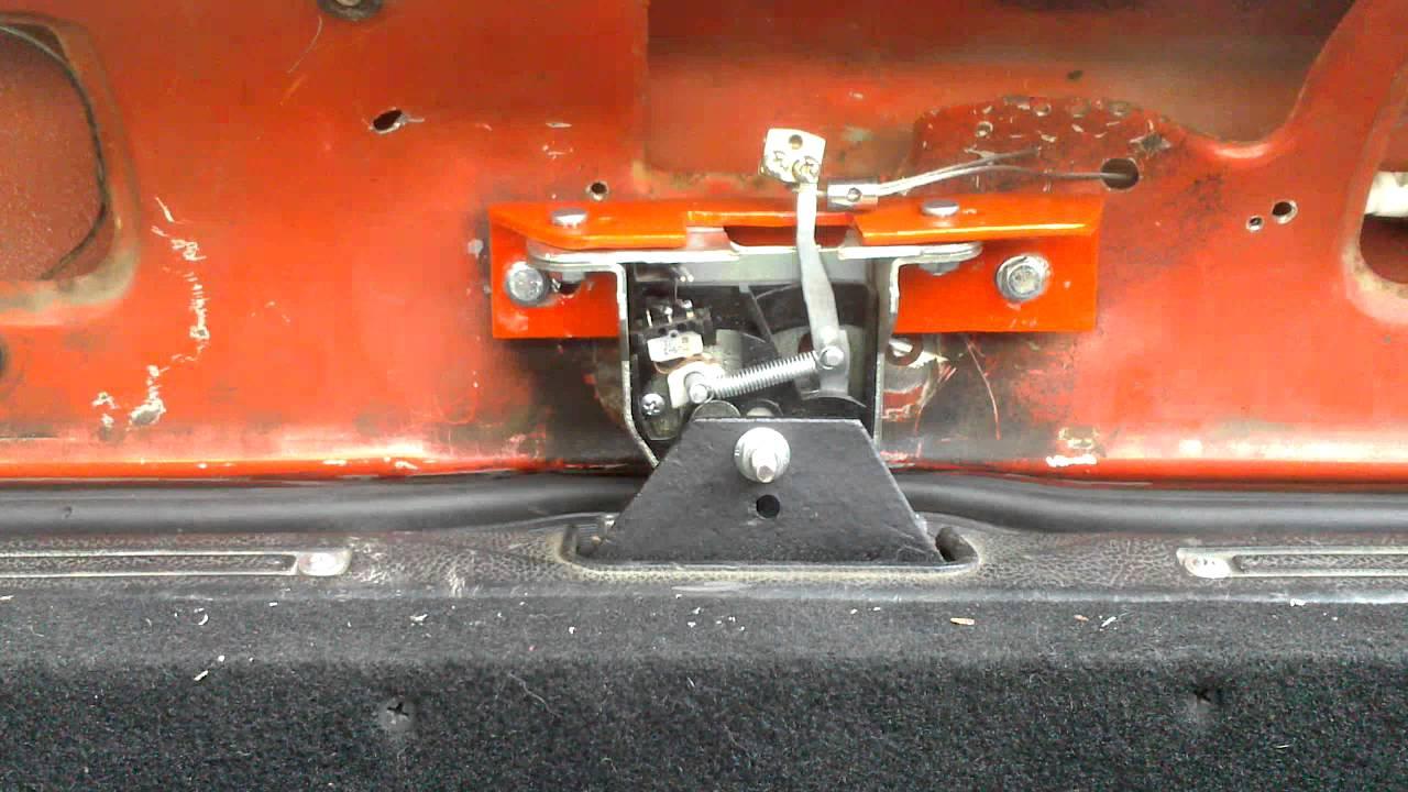 Как открыть багажник без ключа на Лада Калина и ремонт замка .