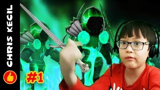 MY BLUE ARMOUR IS THE BEST!!! | Roblox Infinity RPG #1 played by Chris