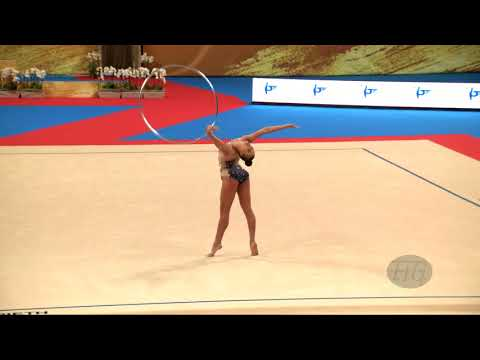 TASEVA Katrin (BUL) - 2018 Rhythmic Worlds, Sofia (BUL) - Qualifications Hoop