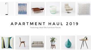Apartment Haul 2019: West Elm (Contemporary + Modern)