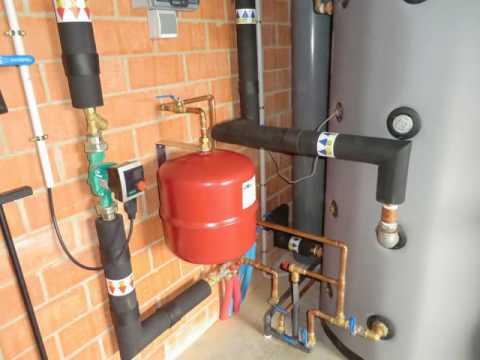 Biomasa instalacion de acumulador de inercia para - Calefaccion para un piso ...