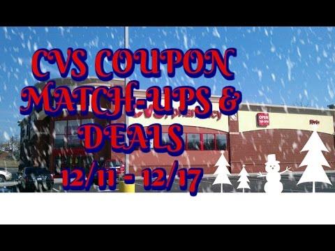 CVS Coupon Match-Ups & Deals:  12/11 - 12/17