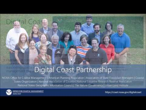 NOAA's Digital Coast: Integrated Data and Visualization Tools for Coastal Communities
