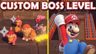 CASTLE CRISIS: Custom Super Mario 3D World mod with castle level + boss fights