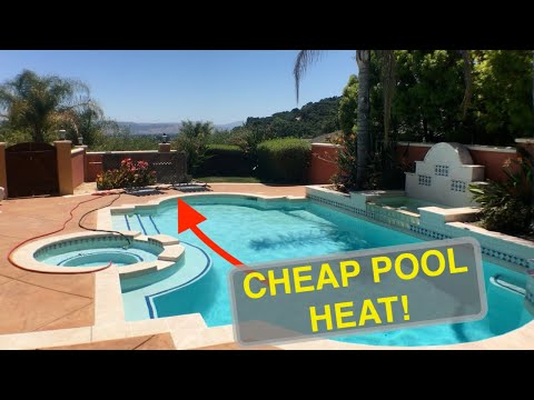 Cheapest Pool Heating ☀️Hack!
