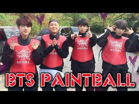 BTS PAINTBALL [MOTOYCLE]