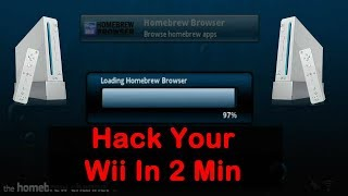 How to Hack Your Nintendo Wii in 2 Minutes