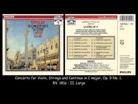 Vivaldi  - La Cetra - 12 Concertos Op. 9 - I Musici - Felix Ayo - 1964