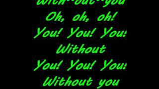 David Guetta Ft Usher Without You Karaoke