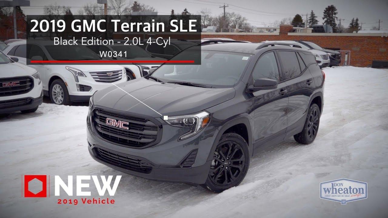 2020 gmc terrain black edition
