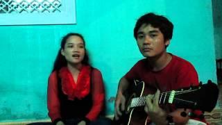 Đồng Xanh - Guitar cover Kiều TRang vs  Hoàng Hùng