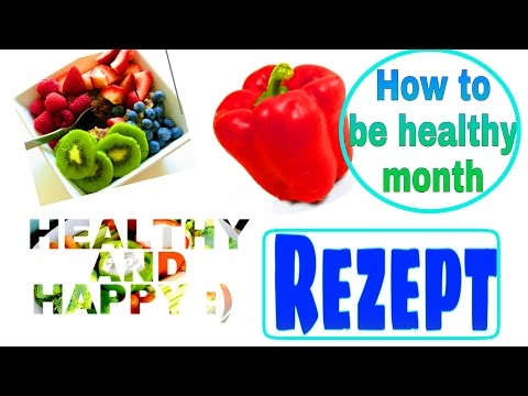 SNACKIDEE  HOW TO BE HEALTHY MONTH