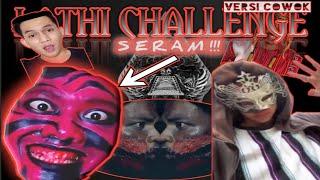 Download LATHI CHALLENGE VERSI COWOK PALING SERAM 😱   Lathi Challenge Weird Genius ft. Sara Fajira