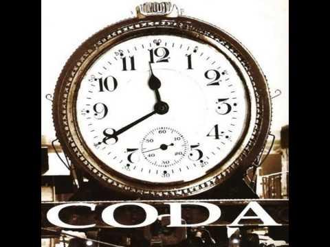 CODA - Si te tuviera aquí Guitar Backing track (Pista).